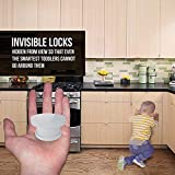 TinyPatrol 15 Pack Magnetic Cabinet Locks Child