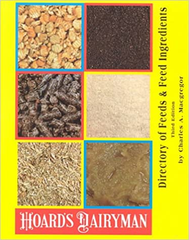Directory of Feeds and Feed Ingredients (Hoard's Dairyman): Charles