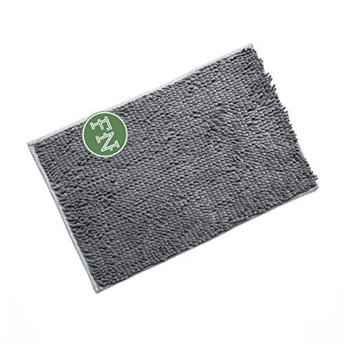 FindNew Soft Shaggy Chenille Absorbent Microfiber Bath Mats Floor Toilet Shower Rugs For Bathroom,Kitchen,Door (16