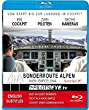 PilotsEYE.tv   ACROSS the ALPS   Wien - BARCELONA A321  :  Blu-ray Disc®  :  Cockpitflight Austrian Airbus A 321 [Blu-ray]