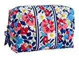 Vera Bradley Large Cosmetic in Summer Cottage