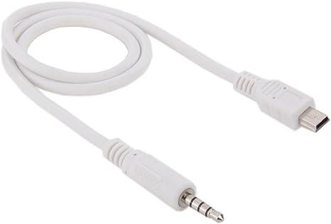 kj-vertrieb Audio-Adapter Micro USB zu 3,5mm Klinkenstecker Kabell/änge 1 Meter Stereo
