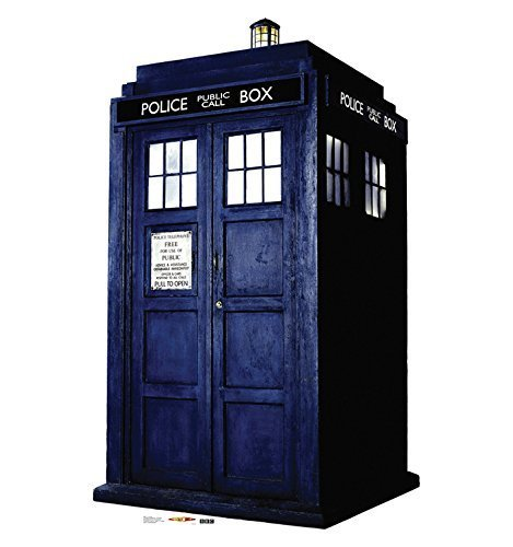 Doctor Who Dr. Who 2D TARDIS Lifesize CARDBOARD CUTOUT Standup Standee Poster