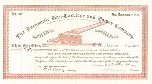 (Pneumatic Gun-Carriage and Power Company)