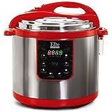 Elite Platinum EPC-1013R Maxi-Matic 10 Quart Electric Pressure Cooker, Red (Stainless Steel)