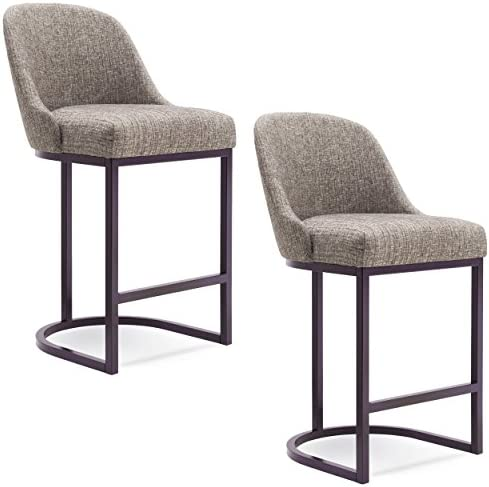 Leick Furniture Barrelback Counter Stool Set of 2