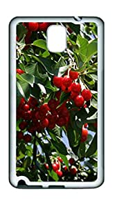 Samsung Note 3 CaseCherry Tree TPU Custom Samsung Note 3 Case Cover White