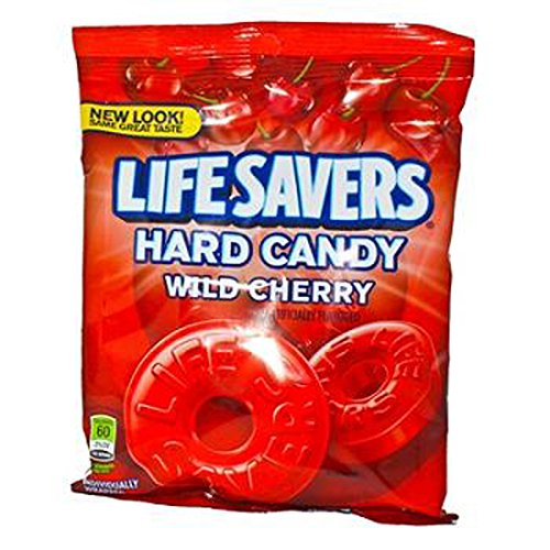 Wild Peg (Lifesavers Wild Cherry , 12 Count (SUGAR CANDY - PEG-BOARD BAGS))