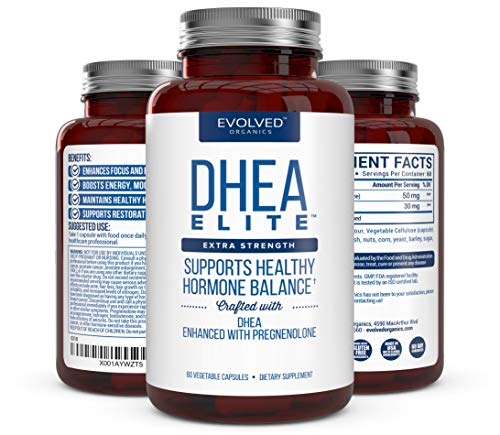 Extra Strength DHEA 50mg, with Pregnenolone 30mg – Hormone