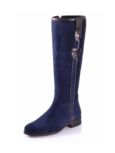 Alba Moda - Botas de Piel para mujer Azul azul, color Azul, talla 40 UE