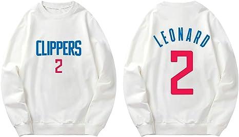 SHPP Camiseta de Manga Corta Kawhi Leonard 2# Los Angeles Clippers ...