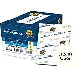 Hammermill Colored Paper, Cream Printer Paper, 24lb, 8.5x11 Paper, Letter Size, 5000 sheets / 10 Ream Case, Pastel Paper, Colorful Paper (168060C)
