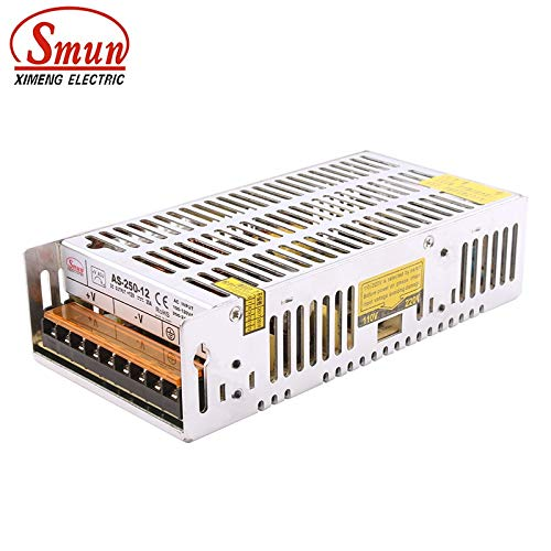Utini AS-250-12 250W 12V 20A SMPS Mini Size Single Output Switching Power Supply with CE ROHS 2 Year Warranty