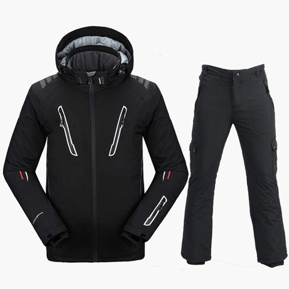 QZHE Tuta da sci Tuta Sci Giacca Uomo Giacca Sci da Sci Snowboard Pantaloni da Sci Traspirante Snowboard Inverno Neve Set Caldo Impermeabile, XLB07LFZ4QS1XXL ffe1ec