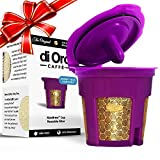 MaxBrew 24K GOLD K-Cup Reusable Filter for Keurig 2.0/1.0 Small Single K-Cup