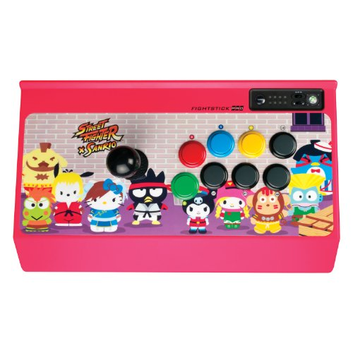 Price comparison product image Street Fighter x Sanrio Arcade FightStick PRO for Xbox 360