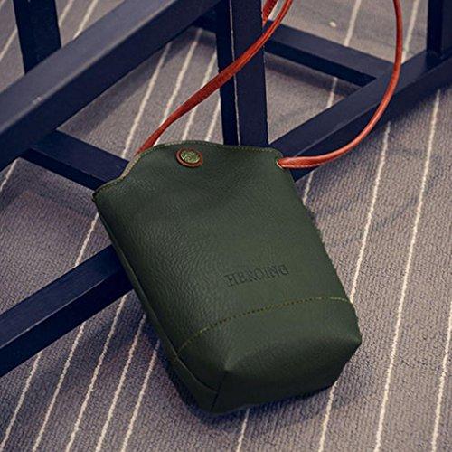 Slim Sacs Sacs de Amlaiwolrd bandoulière Sac à ❤️ Petits Sacs à messager de Bandoulière carrosserie Vert Femmes sacs bandoulière 8qwx4PX