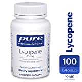 Pure Encapsulations - Lycopene 10 mg - Dietary Supplement for Prostate, Cellular and Macular Support* - 100 Softgel Capsules