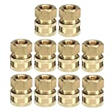10pcs Landa 3/8 Coupler Pressure Washer Quick Connect Female 4000 PSI - Power Tool Parts Other Accessories - 10 x Rubber Stoppers (of Same Size)