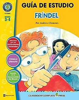 Gua de estudio frndel frindle novel study spanish version gua de estudio frndel frindle novel study spanish version spanish edition fandeluxe Image collections