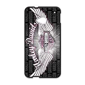 HTC One M7 Cell Phone Case Black Harley Davidson fbyd