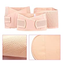 Aenmil® New 3 in 1 Postpartum Support Postpartum Abdomen Band Pelvis Belt Gastric Belt Elastic Breathable Recovery Belly Waist Belt Shaper for Women and Maternity, Especially Helpful After a C-section (Size XL)