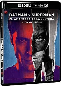 Batman v Superman: El amanecer de la justicia - Ultimate Edition 4k UHD [Blu-ray]