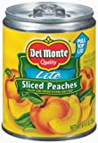 Del Monte 100 Calorie Extra Light Syrup Sliced Peaches