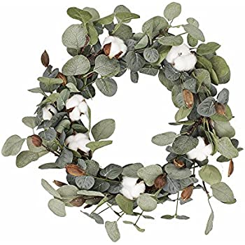 Amazon Com Nearly Natural 4773 20in Olive Wreath Home