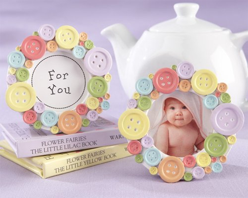 cute as a button picture frame - 8