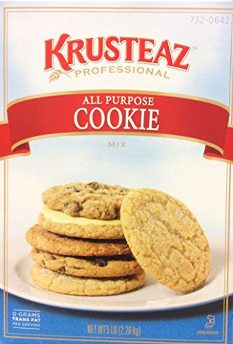 Krusteaz Professional All Purpose COOKIE Mix 5lb. (3-Pack)