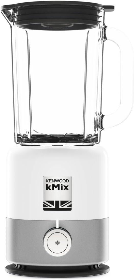 Kenwood BLX750WH - Batidora (Batidora de varillas, Gris, Blanco, 1,6 L, Giratorio, De plástico, Acero inoxidable, Vidrio): Amazon.es: Hogar