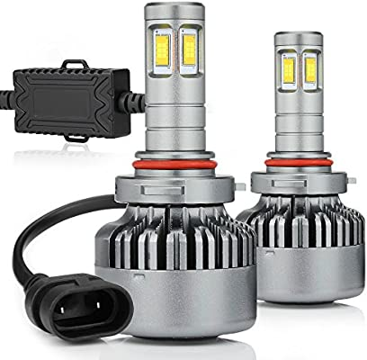 14000lm 9005 Led Headlight Bulbs High Beam 100w Hb3 Super Bright 6000k H10 Car Driving Light Fog Lamps Drl Car Truck Replacement Conversion Kits Zdatt