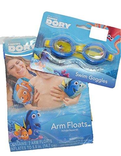 Disney Pixar Finding Dory Swim Goggles and Arm Floats
