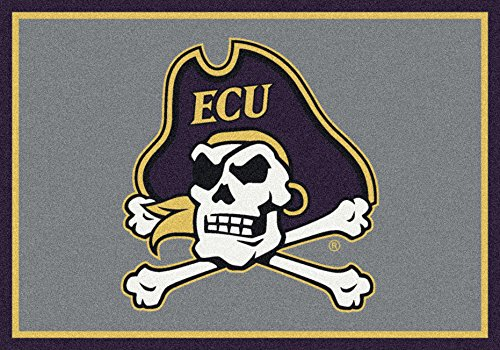 East Rug Pirates Carolina - American Floor Mats East Carolina Pirates NCAA College Team Spirit Team Area Rug 3'10