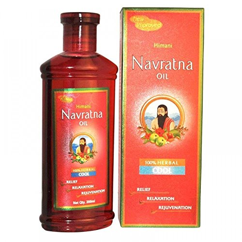 40 PACK Himani Navratna Cool Hair Oil - 200 ml each COOL-COOL THANDA-THANDA by ANMOL COLLECTIONS