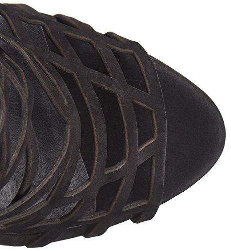 Black Sandal Nubuck Steve Seidenkleid Damen Madden aqBxAw4IxF