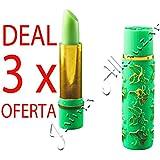 3 x Magie rouge à lèvres hydratant - Argan et henné - Roll sur Deluxe - Maroc