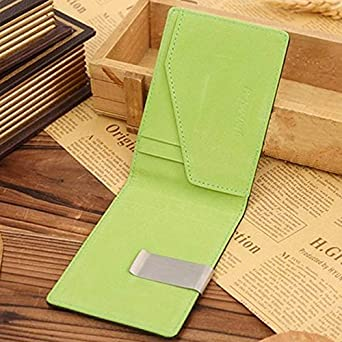 Unisex Wallet Card Holder Wallet Fashion Mens Leather Magic Credit Card ID Holder Money Clip Slim Wallet WKDYBD Wallet