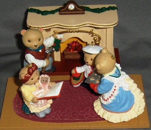Hallmark Keepsake Ornament - Bearingers of Victoria Circle Complete Five-Piece Set 1993 ()