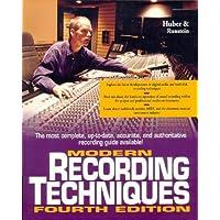 Modern Recording Techniques (Best-Seller (Howard W. Sams & Co.).)