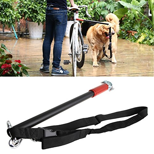 SCASTOE Pet Dog Bicycle Leash Hands Free Lead...