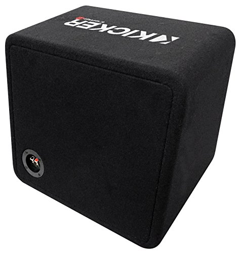 Kicker 43VCWR122 COMP12 12'' 1000W Car Subwoofer+Mono Amplifier+Vented Sub Box by Kicker (Image #3)