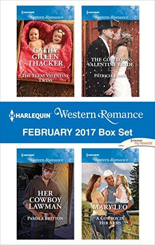 Texas Set (Harlequin Western Romance February 2017 Box Set: The Texas Valentine Twins\Her Cowboy Lawman\The Cowboy's Valentine Bride\A Cowboy in Her Arms)