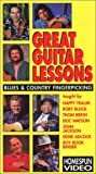 Great Guitar Lessons: Blues and Country Fingerpicking [VHS]