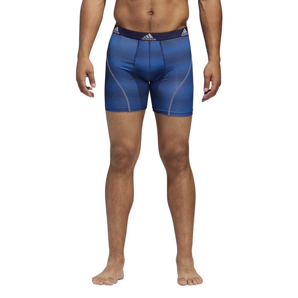 2-Pack adidas Mens Sport Performance Climalite Trunk Underwear