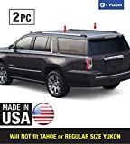 xl roof rack - Made In USA! 2015-2018 Chevy Suburban GMC Yukon XL Roof Rack Body Molding Trim 2PC