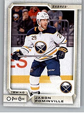 2018-19 OPC O-Pee-Chee Hockey  184 Jason Pominville Buffalo Sabres Official  18 19 NHL Trading Card ec82cea4c