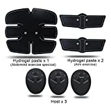 Abdominal-Toning-Belts-Ehonestbuy-Electrical-Muscle-Strengthening-System-Wireless-Ab-Trainer-for-Men-Women-AbdomenArmLeg-Training