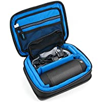 Protective EVA Portable Speaker Case (in Blue) for JBL Pulse Speakers & JBL Clip / JBL Clip 2 - by DURAGADGET